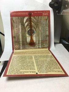 obverse: San Marino. 2 euro commemorativi 2005. Galileo Galilei