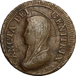 obverse: San Severino.  Pio VI (1775-1799).. Madonnina da 5 baiocchi 1797