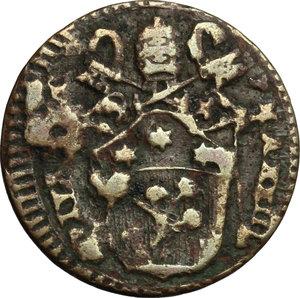 obverse: San Severino.  Pio VI (1775-1799).. Mezzo baiocco A. XXIII, 1797