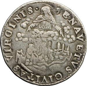 reverse: Siena.  Cosimo I (1537-1574). Testone