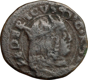obverse: Sulmona.  Federico III d Aragona (1496-1501). Sestino