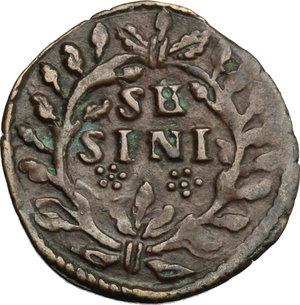 reverse: Urbino.  Francesco Maria II della Rovere (1574-1624). Sesino