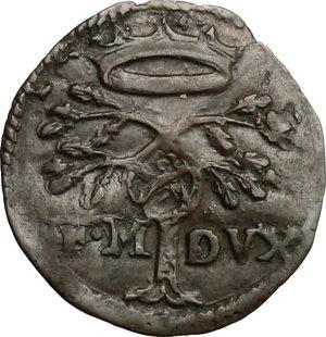 obverse: Urbino.  Francesco Maria II della Rovere (1574-1624). Quattrino