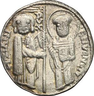 obverse: Venezia.  Pietro Ziani (1205-1229). Grosso matapan