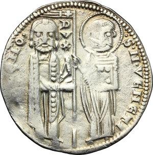 obverse: Venezia.  Ranieri Zeno (1253-1268). Gosso matapan