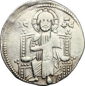 reverse: Venezia.  Ranieri Zeno (1253-1268). Gosso matapan