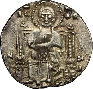 reverse: Venezia.  Pietro Gradenigo (1289-1311).. Gosso matapan
