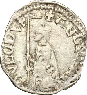obverse: Venezia.  Andrea Dandolo (1343-1354). Soldino