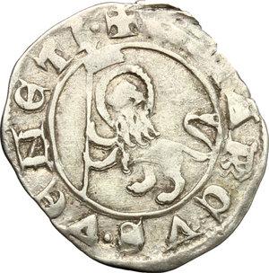 reverse: Venezia.  Andrea Dandolo (1343-1354). Soldino