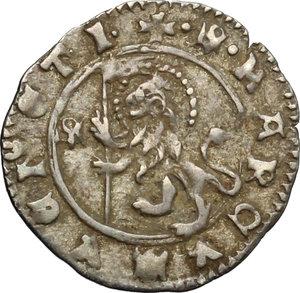 reverse: Venezia.  Giovanni Dolfin (1356-1361). Soldino