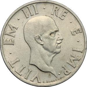obverse: Vittorio Emanuele III (1900-1943). 2 lire 1936