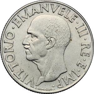 obverse: Vittorio Emanuele III (1900-1943). Lira 1943