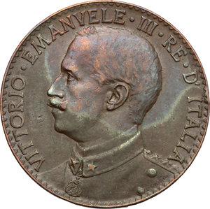 obverse: Vittorio Emanuele III (1900-1943). 2 bese 1913