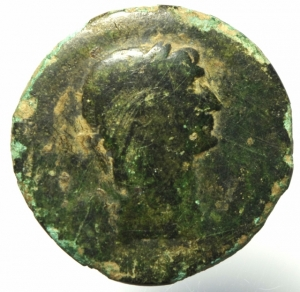 obverse: Impero Romano. Traiano. 98-117 d.C. Sesterzio da classificare da studio.Peso 19,55 gr.Diametro 33,00mm.B.