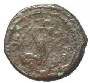 reverse: Mondo Greco. Campania. Cales. ca III sec. a.C. Ae. D/ Testa elmata di Atena verso sinistra. R/ CALENO gallo verso destra. SNG COP 321. Peso 5,94 gr. Diametro 19,87 mm. BB\MB