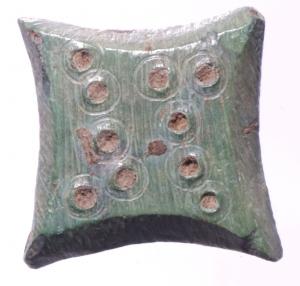 obverse: Bizantini. Peso con globetti. Peso 8,55 gr. SPL. Patina Verde.§