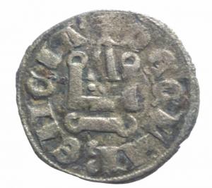 reverse: Oriente Latino. Chiarenza. Isabella di Villearduin (1297-1301). Denaro tornese.Peso 0,60 gr. R. MI. BB.^^