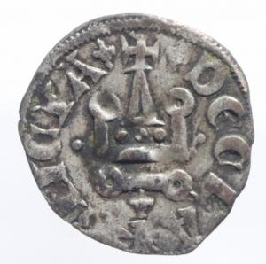 reverse: Oriente Latino. Chiarenza. Filippo di Savoia (1301-1307). Denaro tornese. Malloy 20. MI. BB.^^