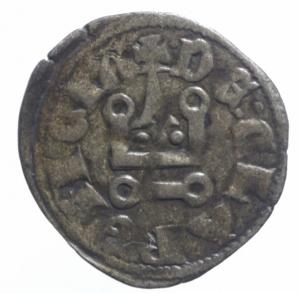 obverse: Oriente Latino. Chiarenza. Filippo di Taranto (1307-1313). Denaro tornese. Peso 0,70 gr.Gamb. 208. MI. BB.^^