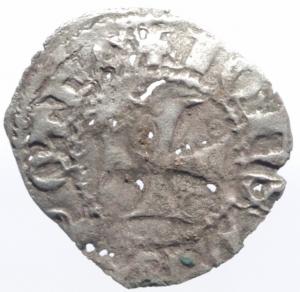 reverse: Oriente Latino.Arta. Giovanni II Orsini, despota d'Epiro (1323-1335). Denaro tornese. Gamberini 189. MI. Raro. MB/BB.^^