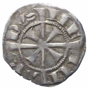 reverse: Zecche Italiane. Merano. Mainardo II. 1271-1295. Grosso tirolino. Ar.Peso 1,50 gr. Biaggi 1186. BB+.
