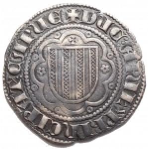 reverse: Zecche Italiane -Messina.Federico III (1296-1337).PierrealeAG. Grammi 3,06. BB+