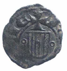 obverse: Zecche Italiane. Messina. Martino il Giovane (1402-1409). Denaro. MIR 222. MI. Bel BB.^^
