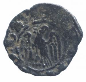 reverse: Zecche Italiane. Messina. Martino il Giovane (1402-1409). Denaro. MIR 222. MI. Bel BB.^^