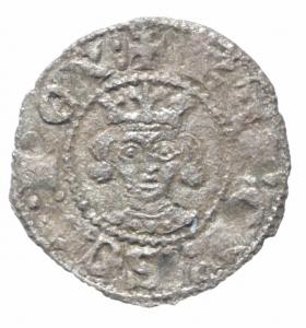 obverse: Zecche Italiane. Napoli. Carlo II d Angiò (1285-1289). Denaro regale. P.R. 4. MI. BB+.