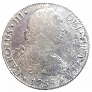 obverse: Estere. Messico. Ferdinando VII (1808-1821). 8 reales 1809. AG. BB/BB+.^^
