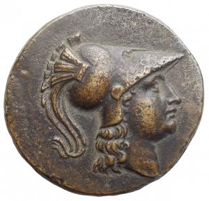 obverse: Medaglie - Medaglia a riprodurre tetradramma greco. gr 20,36. mm 34,6. Buon esemplare