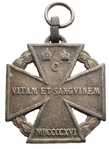 obverse: Medaglie - Austria 1916. gr 11,26. mm 29,4 x 33,5