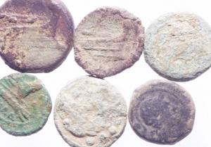 obverse: Lotti.Repubblica Romana.Lotto di 6 bronzi in discrete conservazioni.