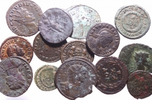 obverse: Lott.Impero Romano.Lotto di 14 monete imperiali del III secolo,mediamente BB