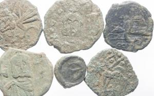 obverse: Lotti.Bizantini.Lotto di 6 monete in conservazione discreta.