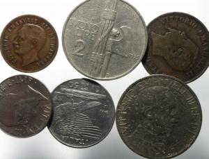 obverse: Lotti.Casa Savoia.Lotto di 6 monete, mediamente BB