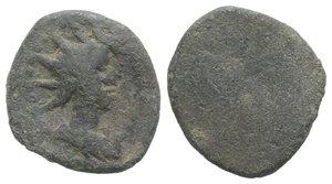 obverse: Roman PB Tessera, c. 1st century BC - 1st century AD (16mm, 3.16g). Radiate and draped bust of Sol(?) r. R/ Blank. VF