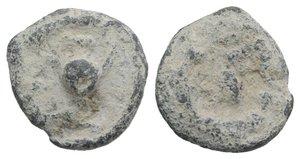 obverse: Roman PB Tessera, c. 1st century BC - 1st century AD (16mm, 5.14g). Pellet in wreath. R/ Pellet in wreath. Good Fine