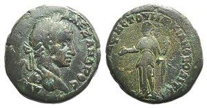 obverse: Severus Alexander (222-235). Moesia Inferior, Marcianopolis. Æ (24mm, 8.83g, 12h). Laureate head r. R/ Homonoia standing l., holding patera and cornucopia. AMNG 1012. Green patina, Good Fine