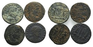 obverse: Lot of 4 Æ Roman Imperial coins, to be catalog. LOT SOLD AS IS, NO RETURNS
