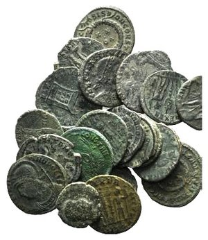 obverse: Lot of 20 Æ Late Roman Imperial coins, to be catalog. LOT SOLD AS IS, NO RETURNS