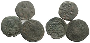 obverse: Lot of 3 Byzantine Æ coins, to be catalog. Lot sold as it, no returns