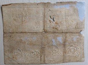 reverse: Italy, Rome (Roma). Prima Repubblica Romana Banco di S. Spirito Baiocchi 40, 1798