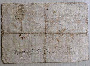 reverse: Italy, Rome (Roma). Prima Repubblica Romana Monte di Pieta  Resto di 50 Baiocchi 1798
