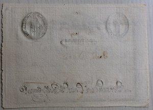 reverse: Italy, Rome (Roma). Prima Repubblica Romana Monte di Pieta  Resto di 10 Paoli 1798
