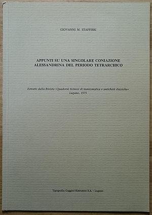 obverse: Wruck W., Die Syrische Provinzialpragung von Augustus bis Traian. W. Kohlhammer Verlag, Stuttgart 1931 (reprint). Copertina rigida, 199pp., 7 tavole B/N, testo tedesco. Ottime condizioni