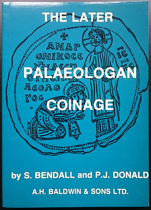 obverse: Bendall S., Donald P.J., The Later Palaeologan Coinage. London, 1979. Brossura ed., 271pp.F115, ill. B/N. Nuovo