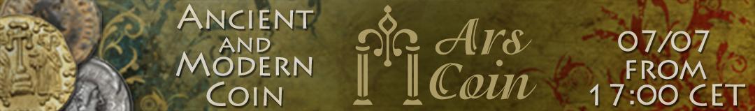 Banner Ars Coin - asta numismatica