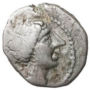 obverse: Cisalpine Gaul, Insubres. Silver Drachm.  Imitating Massalia. 2nd century BC. 2,26 gr. – 14.6 mm. O:\ Female head right. R:\ Lion standing right. BMC 3-6; Pautasso 435-457. Rare. VF\XF