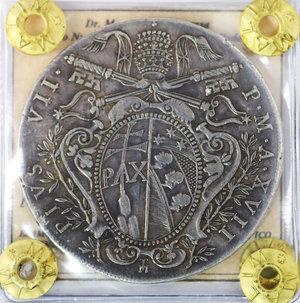 D/ Stato Pontificio. Pio VII. 1800-1823 DC. Scudo 1816. Bologna. Rara. SPL